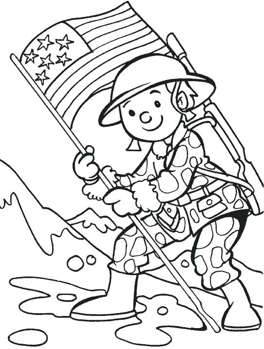 542x718 Memorial Day Printable Coloring Pages Free Veterans Day Coloring