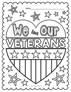 Veterans Day Thank You Coloring Pages at GetDrawings ...