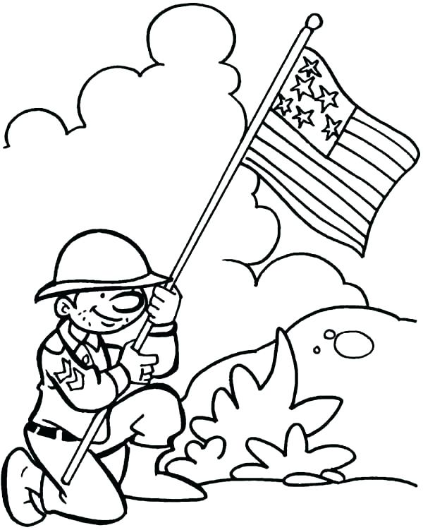 600x751 Veteran Coloring Pages Free Veterans Day Coloring Pages Veteran
