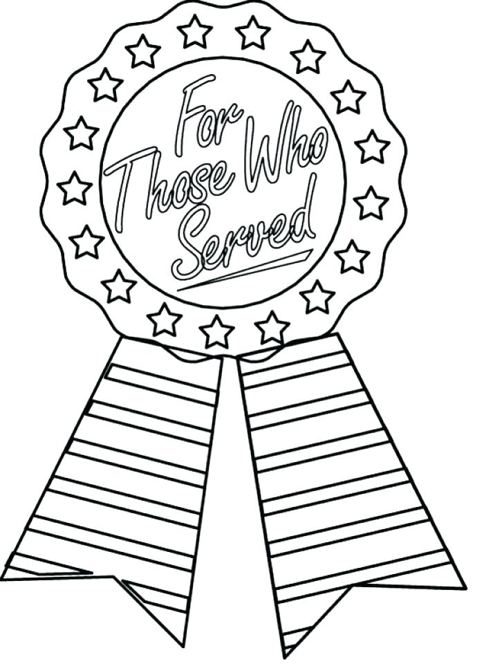 726x960 Veterans Day Coloring Pages For First Grade Veteran Printable