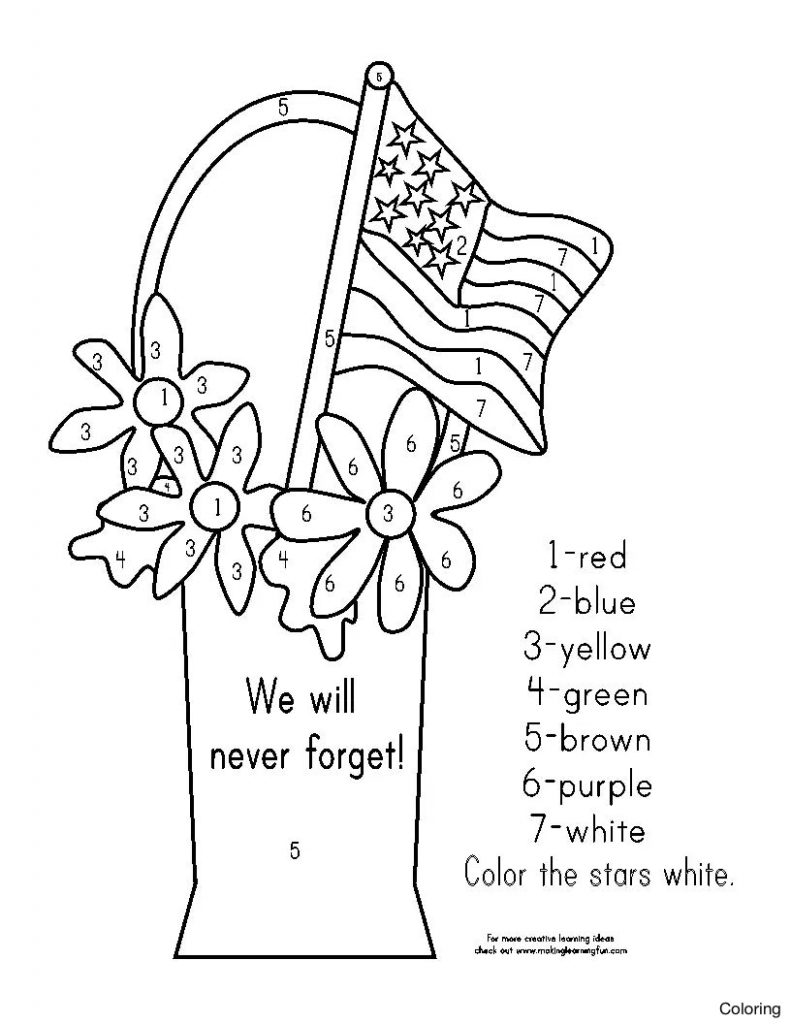 791x1024 Great Coloring Pages For Veterans Day Free