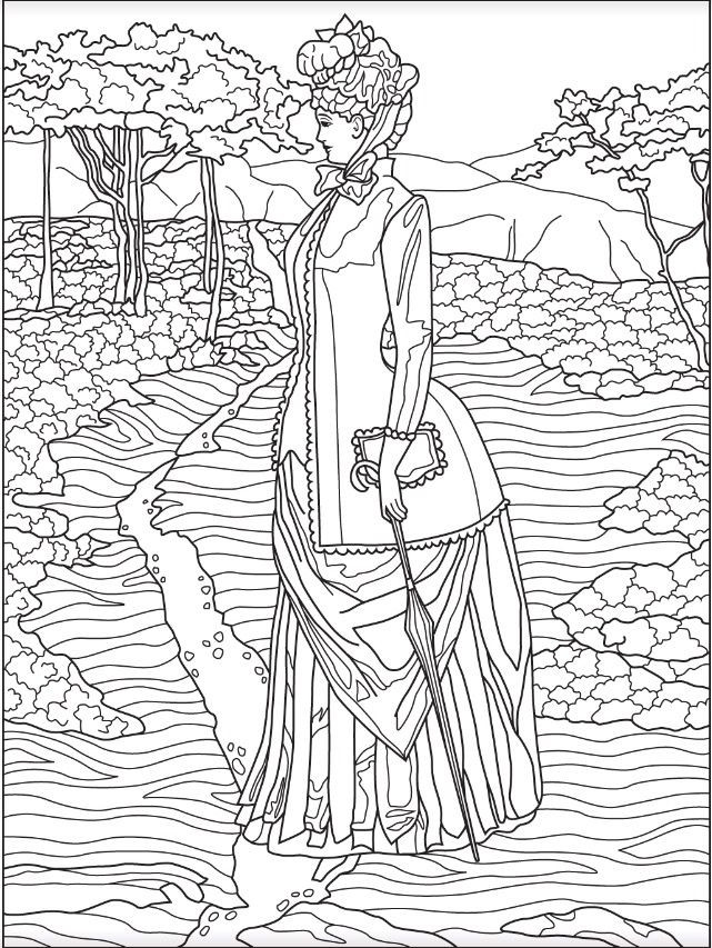 641x853 Victorian Coloring Pages Beautiful Best Fashion Coloring Pages
