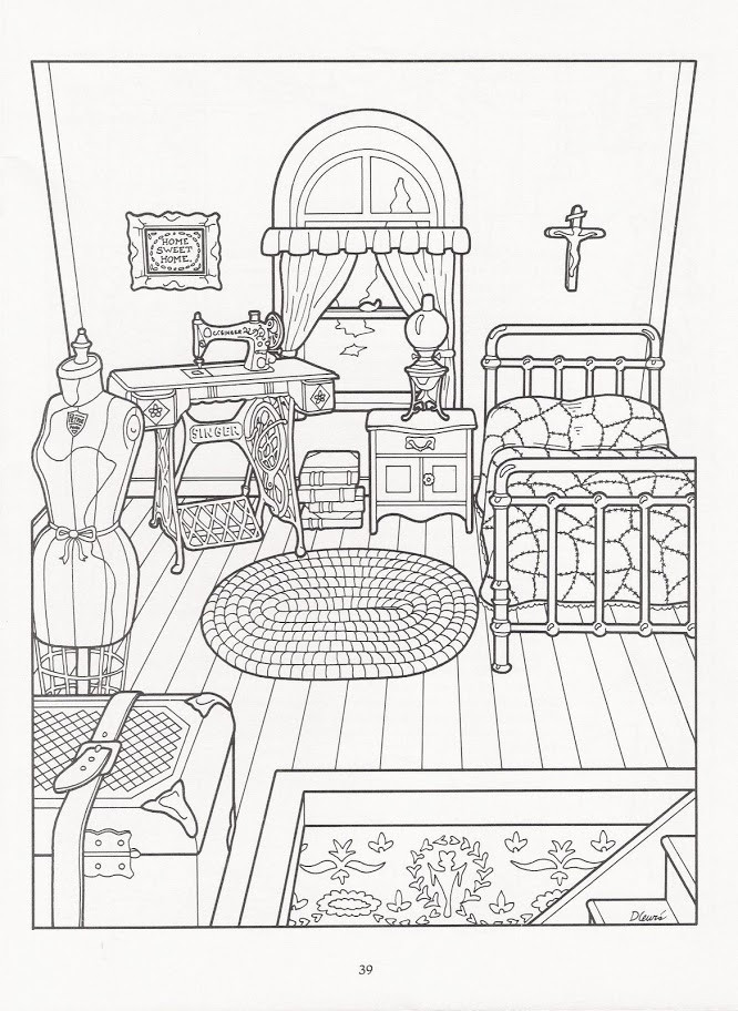 666x912 Beautiful Free Coloring Pages Of Victorian Houses Home Decor
