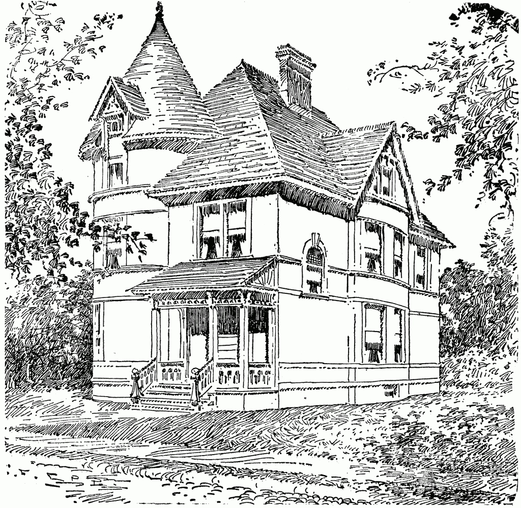 1024x999 House Coloring Page New Victorian House Coloring Pages Coloring