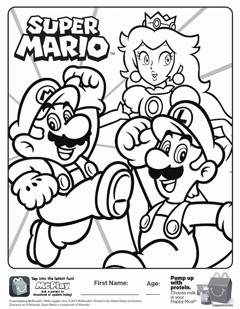 Video Game Coloring Pages For Adults