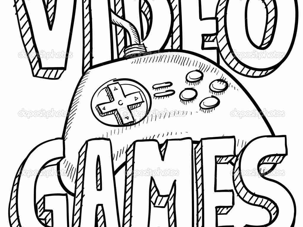 Video Game Coloring Pages For Adults At Getdrawings Com Free For
