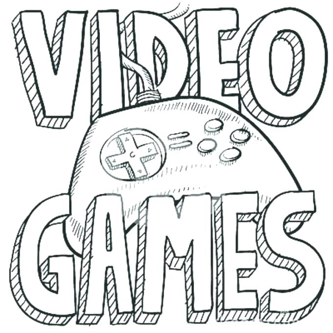 Video Game Coloring Pages For Adults At Getdrawings Free Download