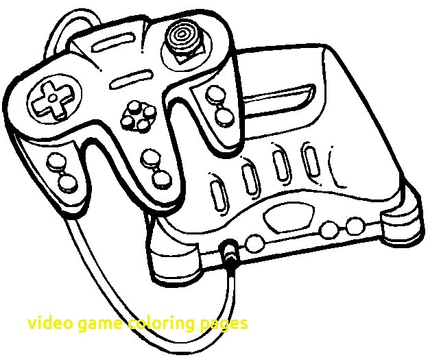 624x528 Video Game Coloring Pages For Adults Video Game Coloring Pages
