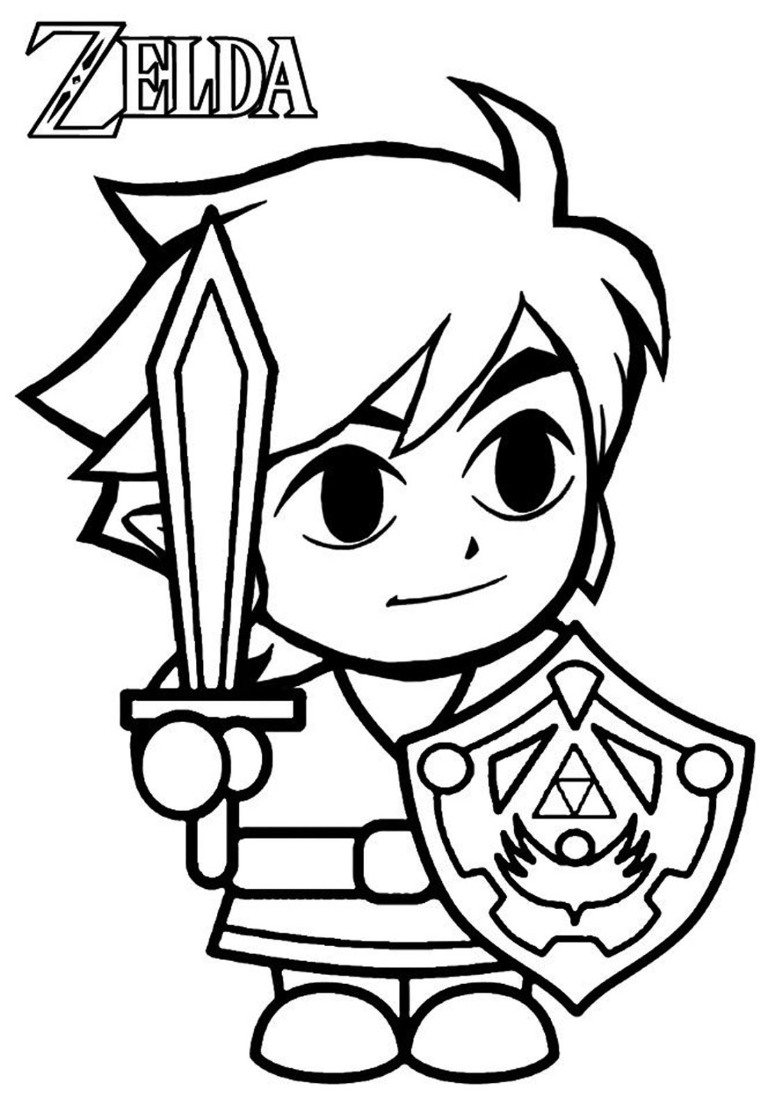 1095x1600 Adult Simple Video Game Coloring Pages