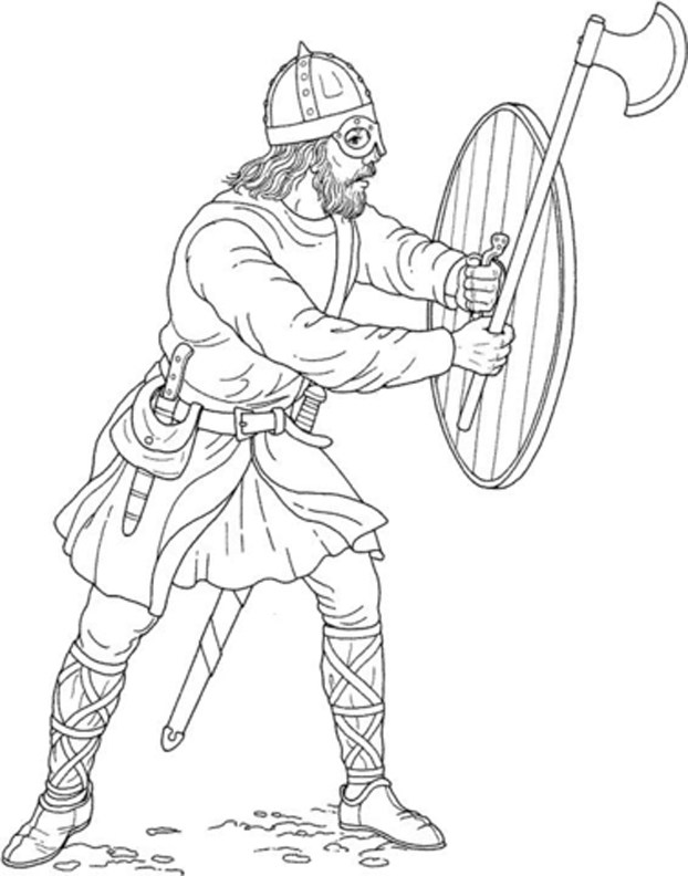 622x792 Viking Colouring Pages Free Viking Coloring Pages Printer Ready