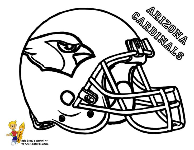 Vikings Football Coloring Pages
