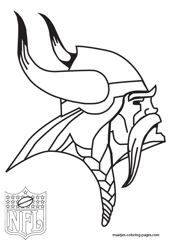 595x842 Minnesota Vikings Coloring Pages Viking Coloring Pages Eagles