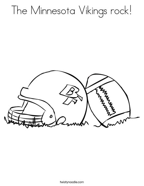 468x605 The Minnesota Vikings Rock Coloring Page