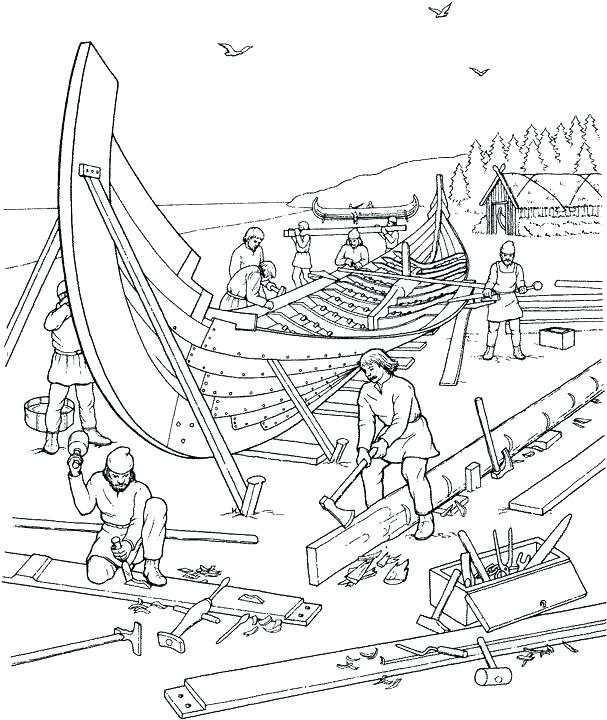 607x720 Viking Coloring Pages Vikings Coloring Pages Coloring Page Viking