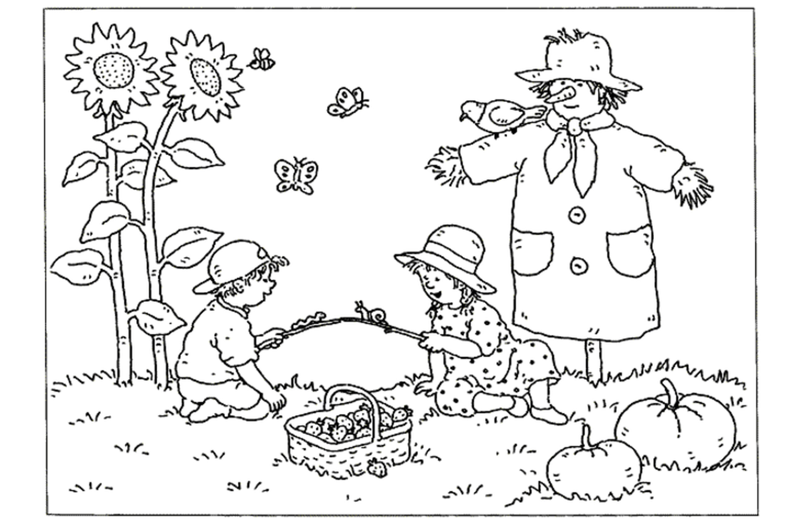 2550x1698 Advent Activity Village Coloring Page Pages