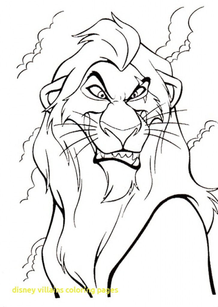 727x1024 Disney Villains Coloring Pages With Disney Villains Coloring Page