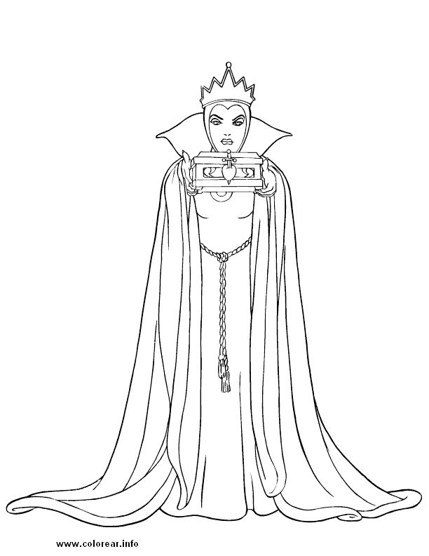 612x792 Free Disney Villains Coloring Pages Many Interesting Cliparts