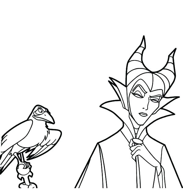Villian Coloring Pages at GetDrawings | Free download