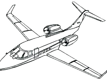 440x330 Coloring Pages And Coloring Books Airplane Coloring Pages