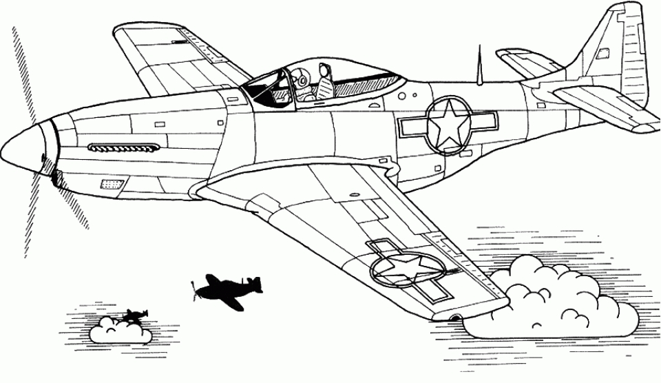 960x556 Coloring Pages Airplane Coloring Pages