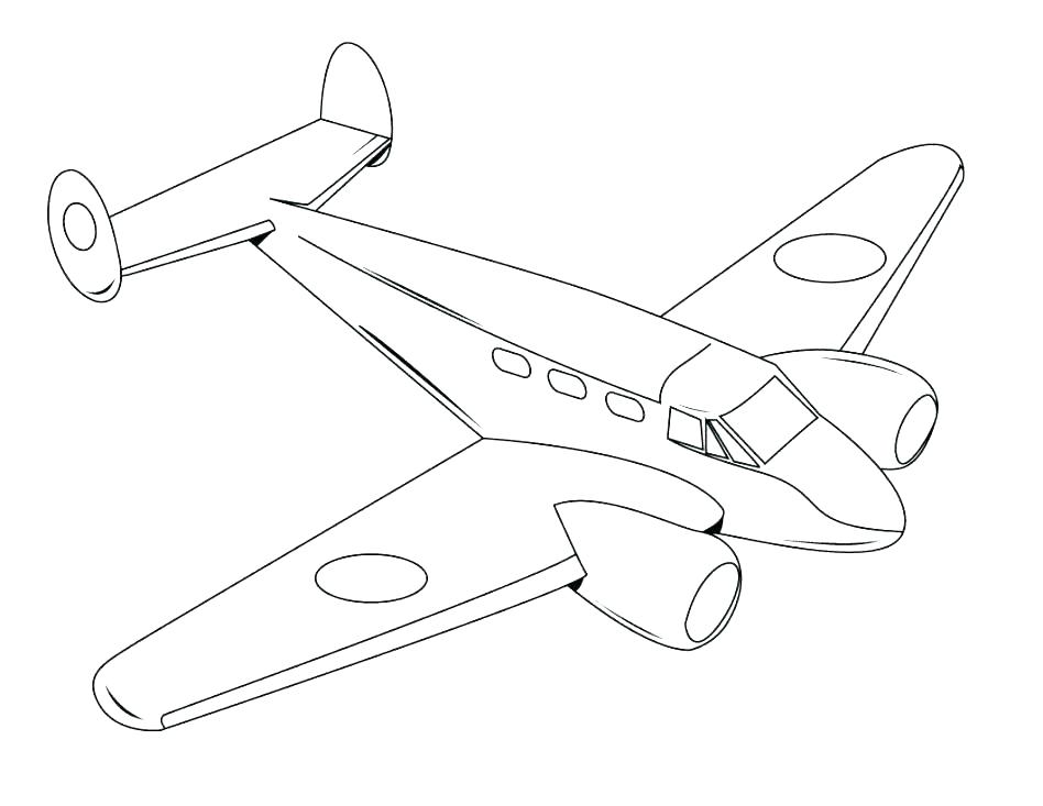948x733 Free Printable Airplane Coloring Pages For Kids Airplane Coloring