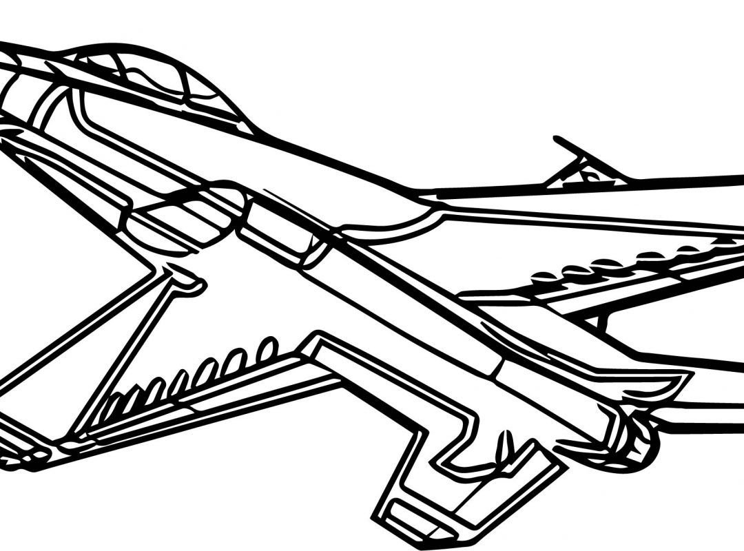 1080x800 Airplane Coloring Pages Cartoon Free Printable Kids Plane To Print