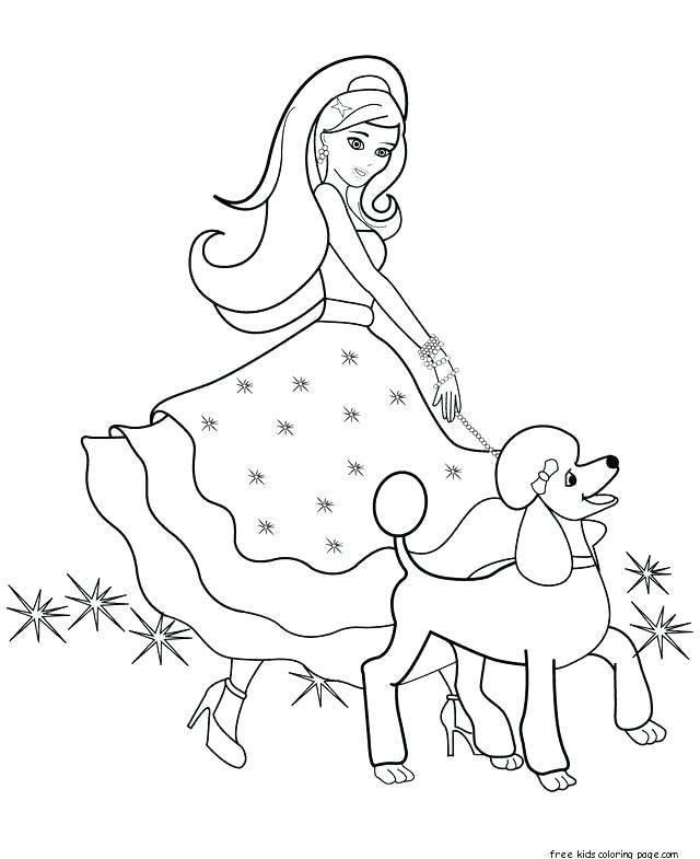 Vintage Barbie Coloring Pages At Getdrawings Com Free For Personal