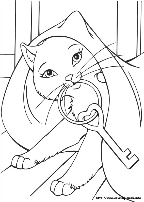 567x794 Coloring Page Php Vintage Barbie Coloring Book