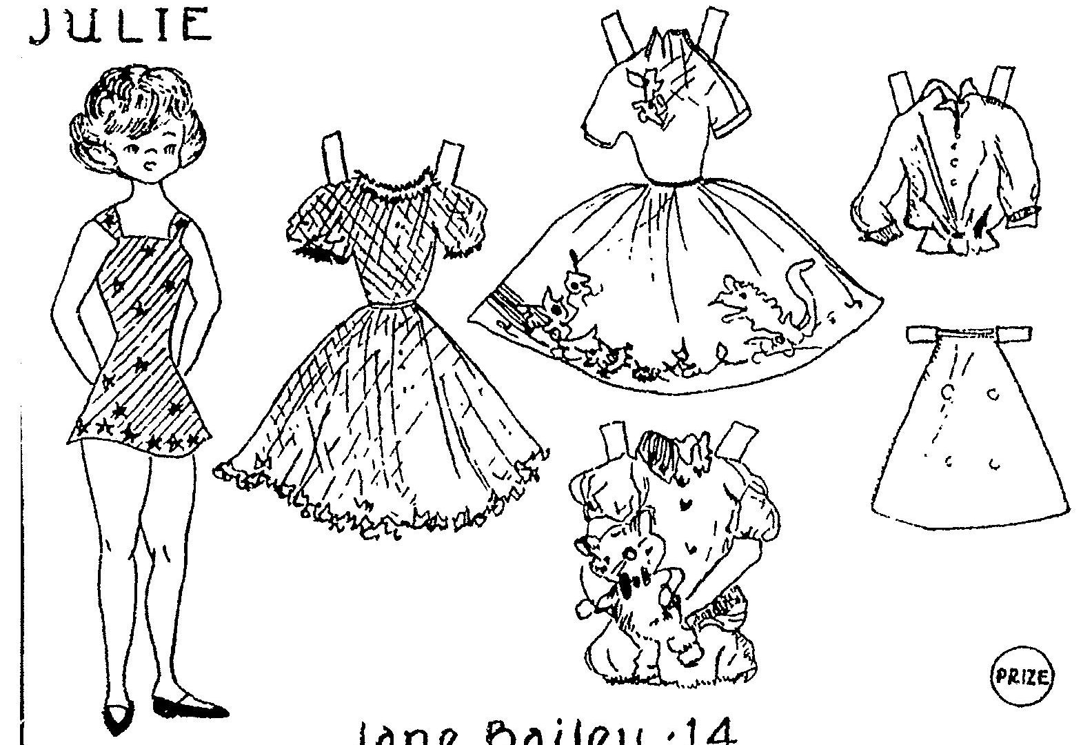 1584x1080 Paper Doll Coloring Pages Fayes Casual Page Frozen Dolls Princess