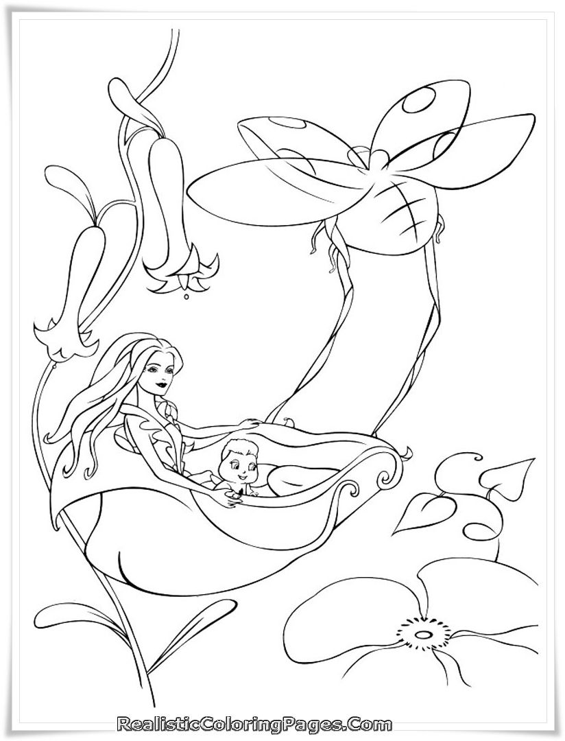 824x1080 Realistic Coloring Pages Of Barbie Fairytopia Coloring Book