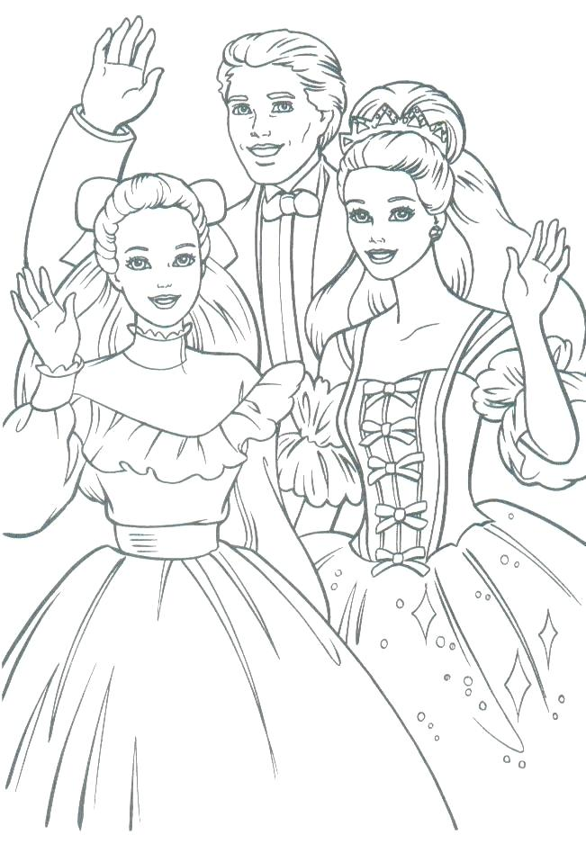 651x938 Barbie And Ken At The Beach Coloring Pages Printable Coloring Old