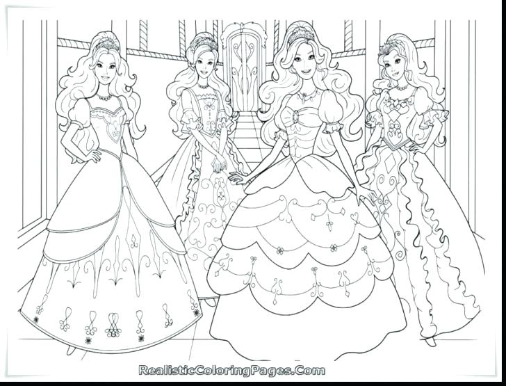 728x555 Barbie Coloring Page Barbie Coloring Pages Overview With Great