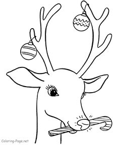 236x288 Reindeer Coloring Pages Coloring Pages Crafts