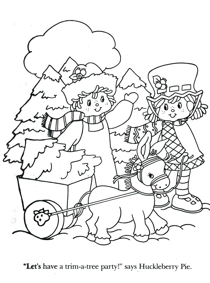 736x991 Vintage Christmas Coloring Pages Vintage Coloring Books Plus