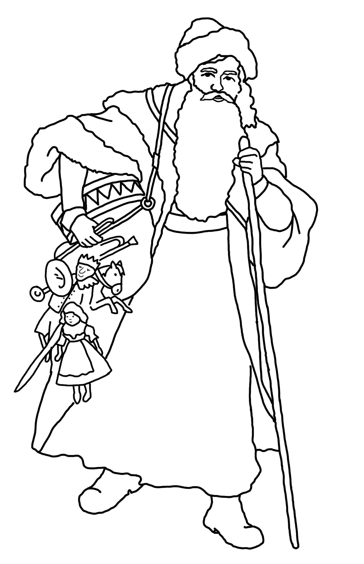 1181x1828 Christmas Coloring Pages