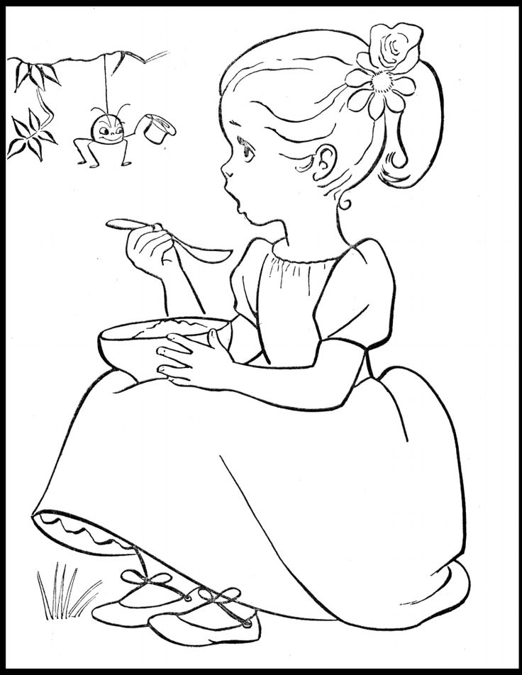 736x952 Top Vintage Coloring Pages