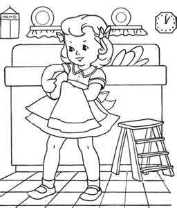 256x300 Vintage Coloring Pages