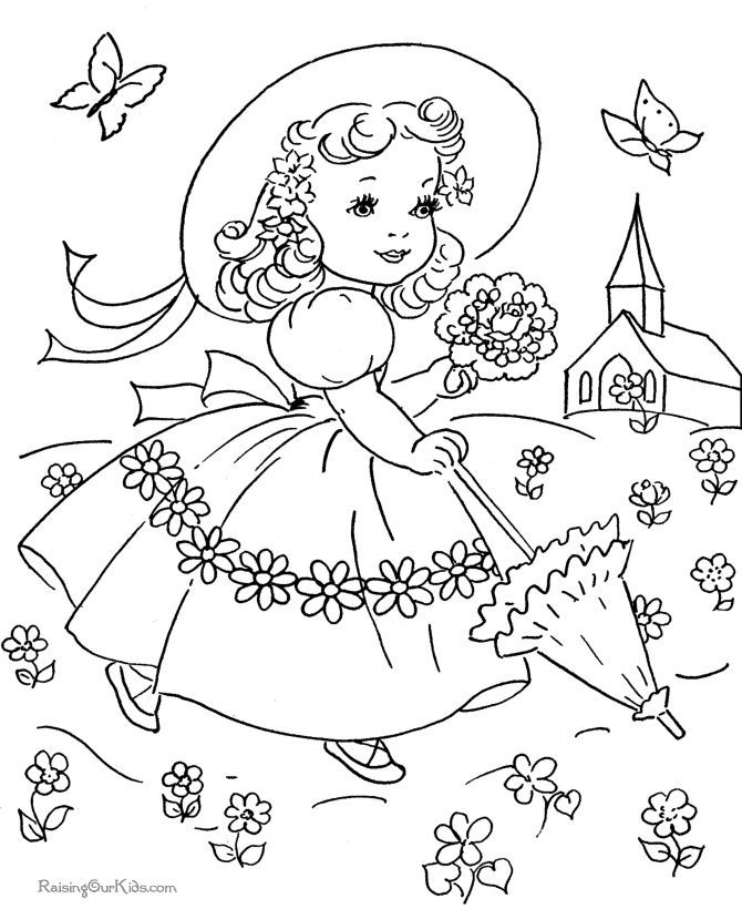 670x820 Vintage Coloring Pages Coloring Pages