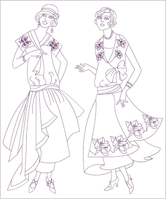 334x400 Free Coloring Pages Vintage Fashion Coloring Page Rubber