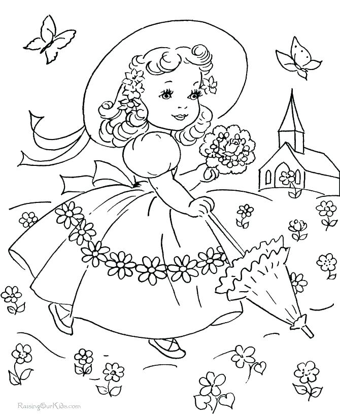 670x820 Historical Fashion Coloring Pages Download And Print For Free Old