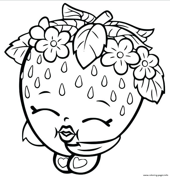 582x604 Strawberry Coloring Picture Strawberry Coloring Page Strawberry