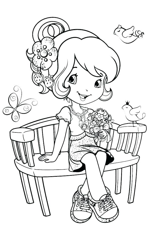 637x960 Strawberry Shortcake Coloring Pages Strawberry Shortcake Printable