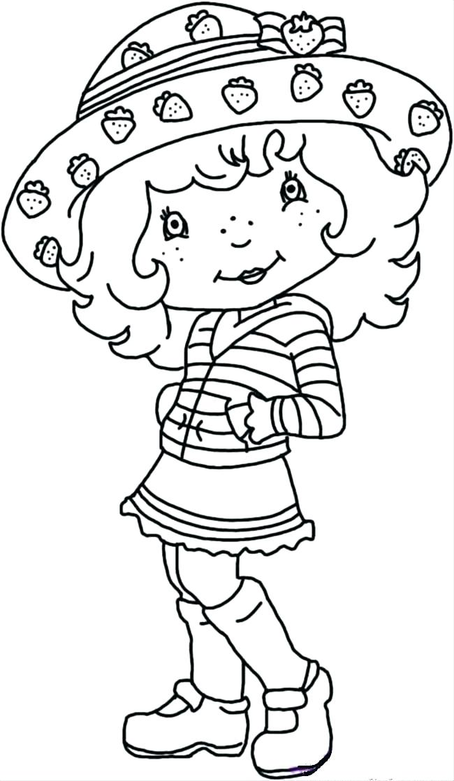 650x1118 Strawberry Shortcake Printable Coloring Pages Strawberry Shortcake