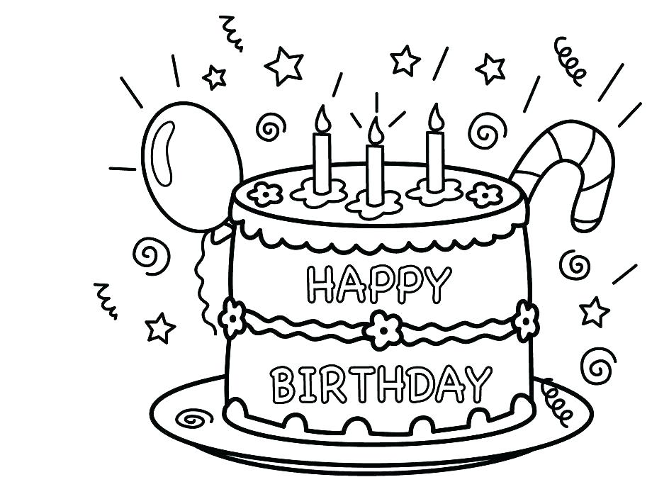 944x704 Cake Coloring Pictures Coloring Pages Cake Cake Coloring Pages