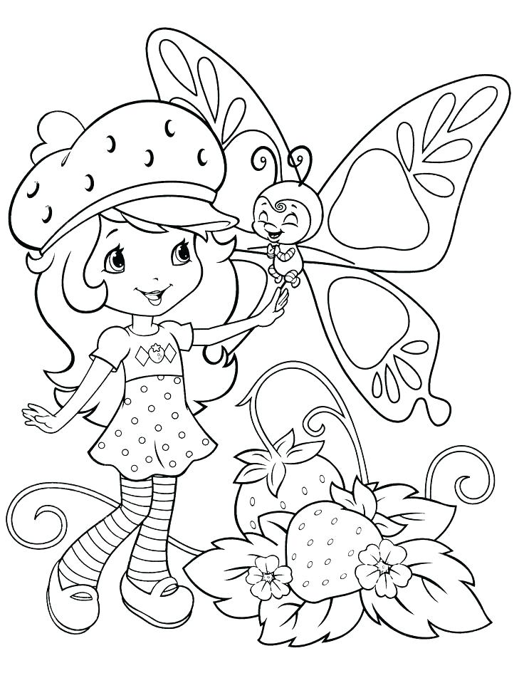 736x952 Coloring Pages Strawberry Shortcake Strawberry Shortcake Coloring