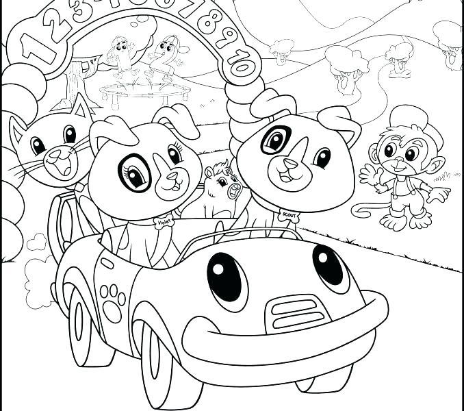 678x600 Amusement Park Coloring Pages Violet Coloring Page Amusement Park