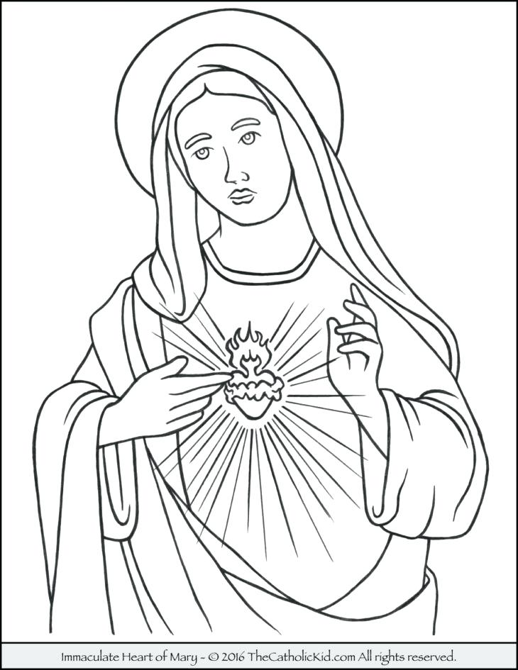 730x945 Letter To Coloring Pages Mother And Rosary Free Coloring Hail Mary