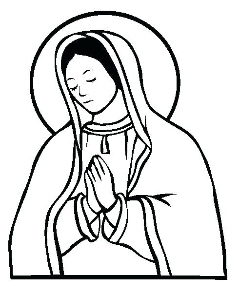490x605 Mary Coloring Page And Baby Coloring Page