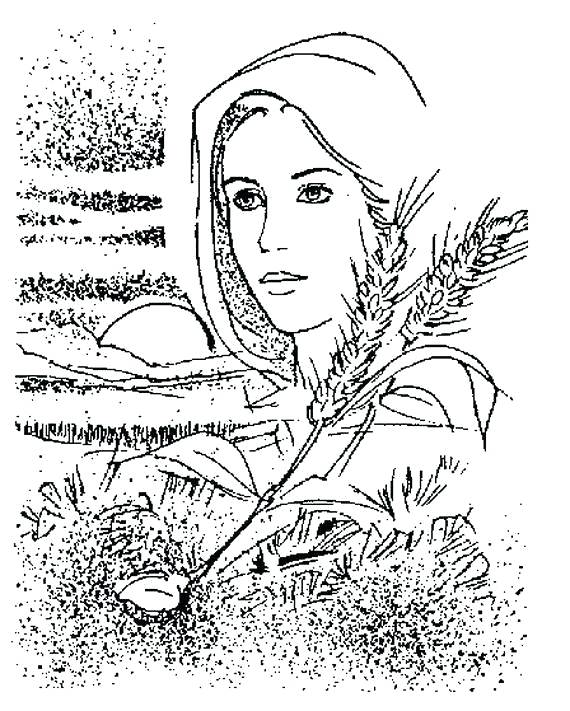 570x711 Mary Coloring Pages Assumption Of Mary Coloring Pages Catholic