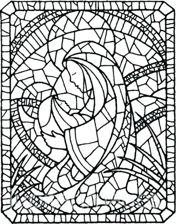 570x722 Mary Coloring Pages Coloring Page Assumption Of Virgin Coloring